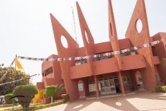 The headquarters of the Panafrican Film and Television Festival of Ouagadougou
