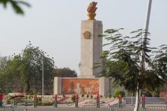 A monument in Place  de la Revolution
