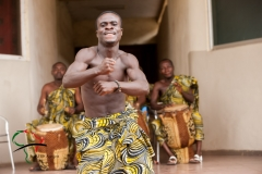An Ashanti dancer