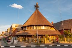 Basotho Hat building