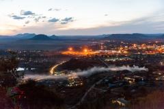 Skyline of Maseru, Lesotho