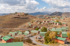Neighborhood in Ha Mohale, Lesotho