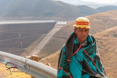 Portrait of a Mohale Dam worker