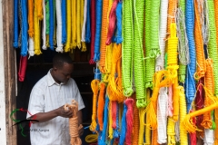A man selling rope