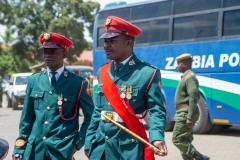 Soliders in uniform