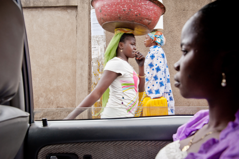 Asante women - Kumasi, Ghana